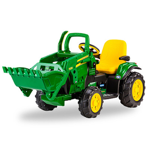 John Deere 12 V Ground Loader With Front Loader