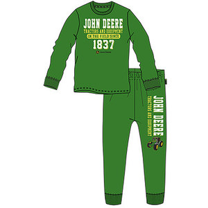 John Deere Green Boys Toddler PJ Set - In the field since 1837