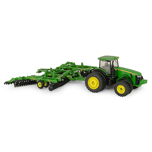 1/64 8320R Tractor And Disc Set