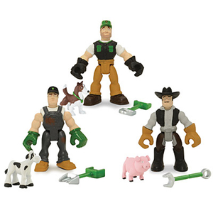 The Awesome Gear Force Action Figures