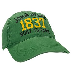 John Deere Green 1837 Youth Cap