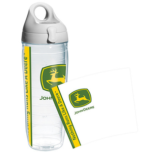 24 oz. Green John Deere Water Bottle