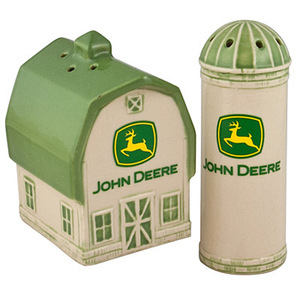 Barn And Silo Salt And Pepper Set With 2000 Logo