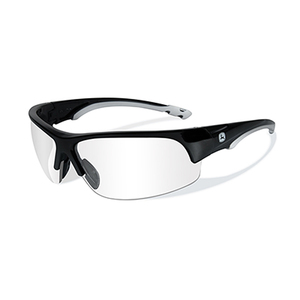 Torque-X Safety Glasses Clear Lens / Gloss Black Frame