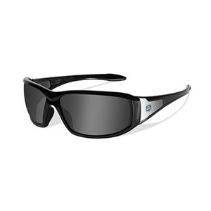Avert-X Safety Sunglasses Grey Lens / Gloss Black Frame