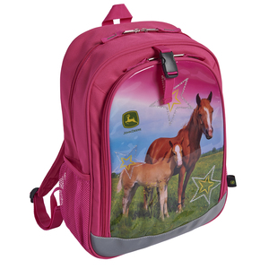 Pink Horse And Star Backpack