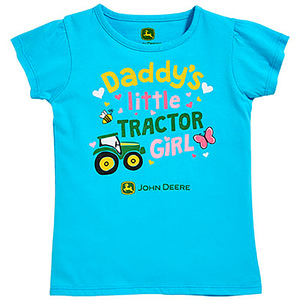 Turquoise Daddy's Girl T-Shirt