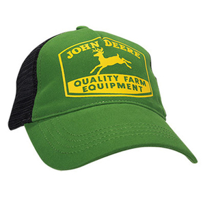 John Deere Green Youth Quality Equipment Cap