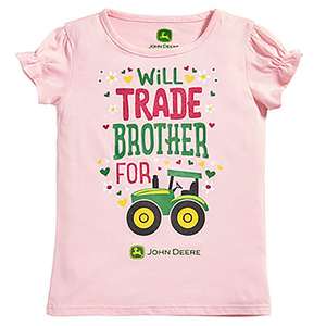 Pink Will Trade For Brother For Tractor T-Shirt