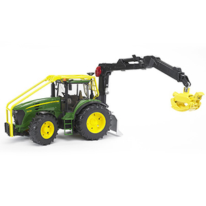 Bruder 16th Scale John Deere 7930 Forestry Tractor