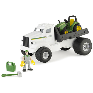 John Deere Gear Force Hauler Truck Playset