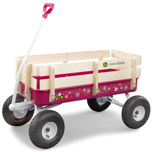 Pink Stakebed Wagon