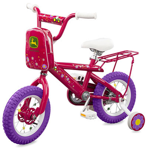 12 Inch Bright Pink Bicycle