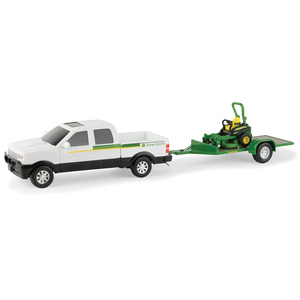 1/32 Pickup with Z-Trak Mower Set