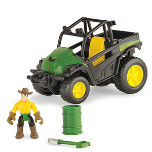 Gator with Tires & Cowboy - Gear Force Off-Road Adventure Set