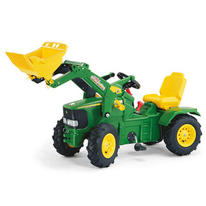 John Deere Farmtrac Front Loader Pedal Tractor With Air Tires