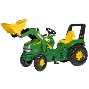 X-Trac Pedal Tractor With Loader
