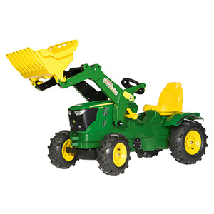 John Deere Farmtrac Pedal Loader With Air Tire