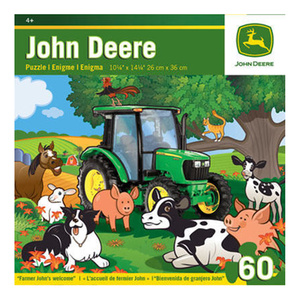 Farmer John's Welcome 60pc puzzle