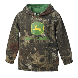 Toddler Mossy Oak Pull Over Hooded Fleece
