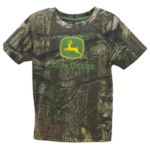Short Sleeve Mossy Oak Camouflage T-Shirt