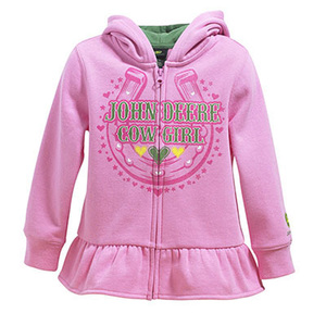 Infant John Deere Cowgirl Hooded Sweatshirt