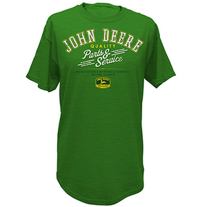 Men's Green Parts And Service T-Shirt