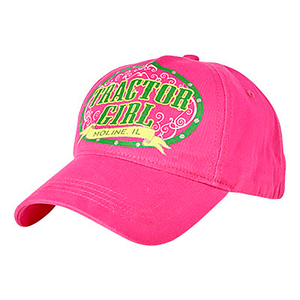 Youth Tractor Girl Cap