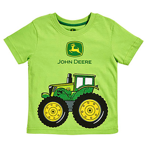 Big Tractor Lime Green T-Shirt
