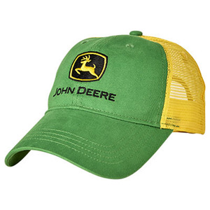 John Deere Youth Hat Green Yellow Cap