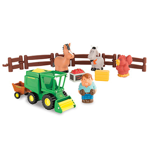 1st Farming Fun Harvest Time Playset