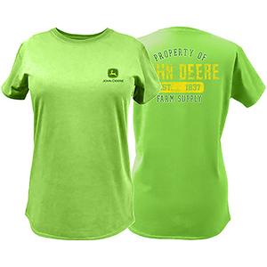 Women's Apple Green Property of T-Shirt