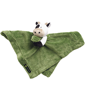 Infant's Cow Cuddle Blanket