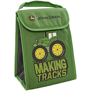 Making Tracks Foldable Lunch Bag