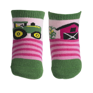 Farm Scene Crew Socks