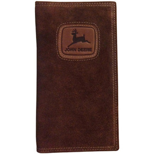 Brown Checkbook With 50's Logo