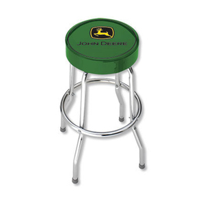 Green Garage Stool