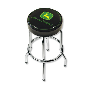 Black Garage Stool