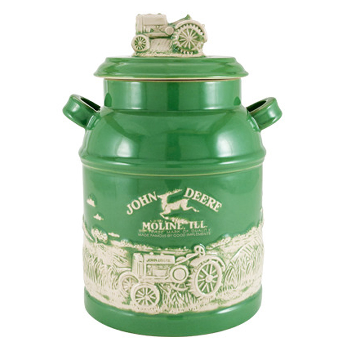 Milk Can Cookie Jar Kitchen Indoor For The Home John Deere Products Johndeerestore