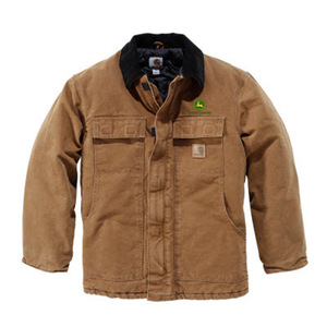 Carhartt Collar Jacket With John Deere AG Logo
