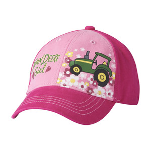 Toddler John Deere Girl Baseball Cap