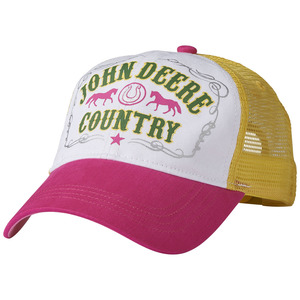 Youth John Deere Country Pink Baseball Cap