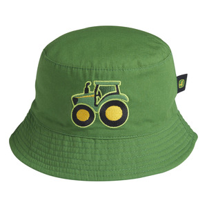 Infant's Bucket Tractor Hat