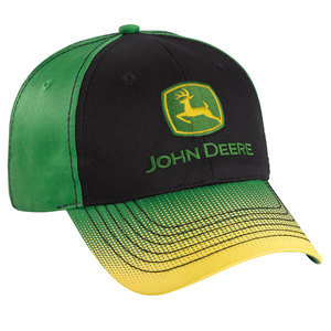 Green/Yellow Gradient Bill Cap