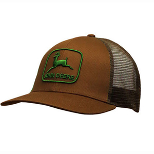 Men's Brown Stretchband Cap