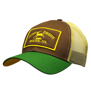 Mens Green With Vintage Logo Cap