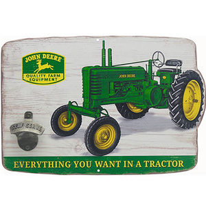 Tractor Sign with Bottle Opener