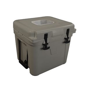 22 Quart Lit Cooler With John Deere Construction Logo
