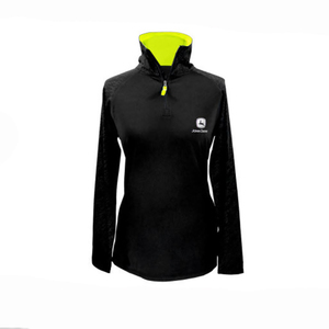 Womens Black 1/4 Zip Pullover S-2XL
