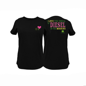 Womens Black Diesel Tee S-2XL